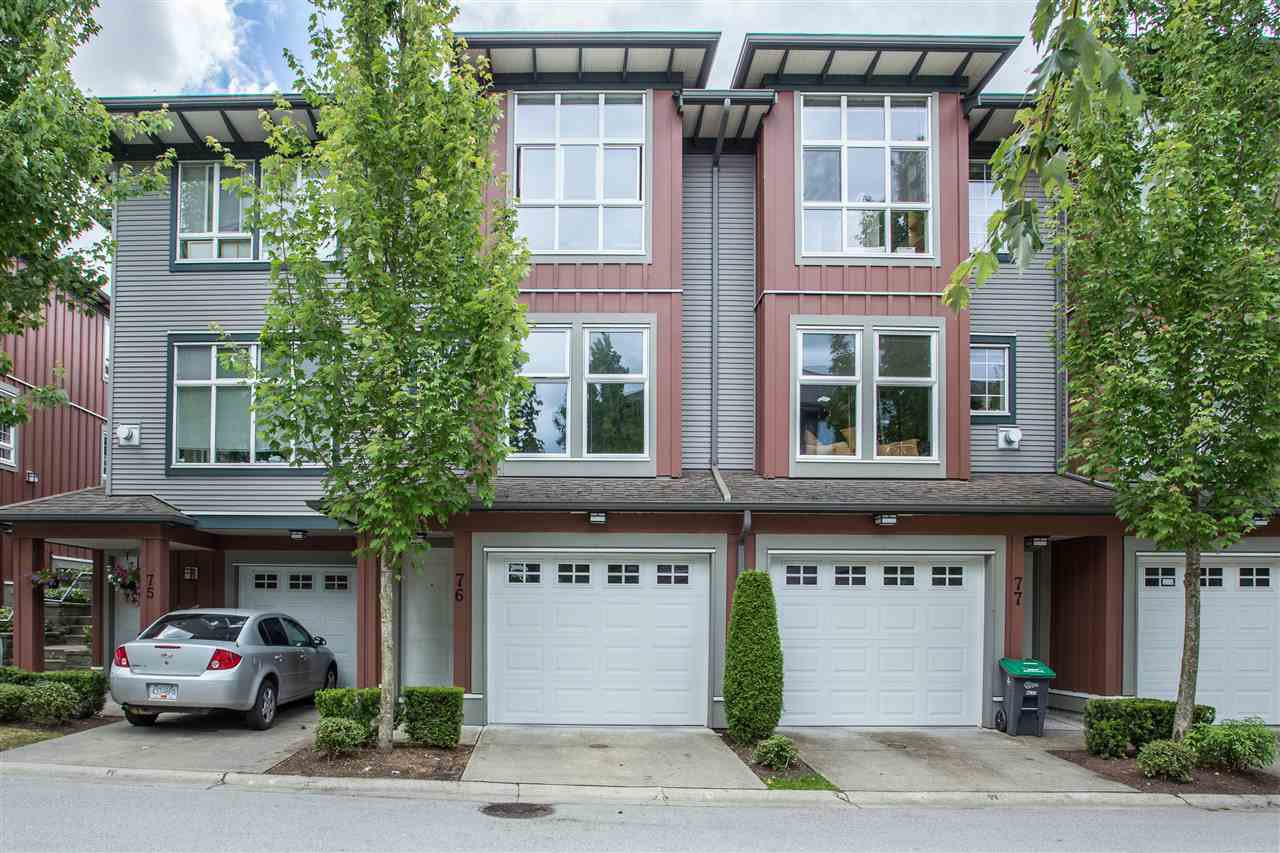 """Main Photo: 76 18777 68A Avenue in Surrey: Clayton Townhouse for sale in """"THE COMPASS"""" (Cloverdale)  : MLS®# R2295259"""