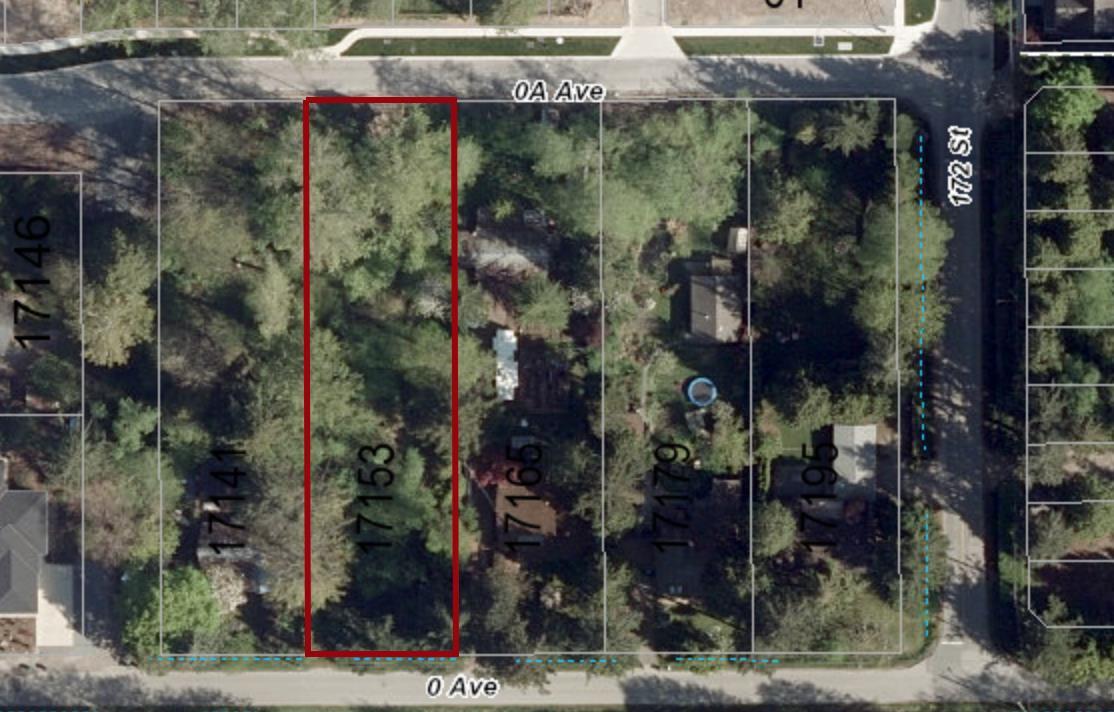 Main Photo: 17153 0 Avenue in Surrey: Pacific Douglas Land for sale (South Surrey White Rock)  : MLS®# R2339701