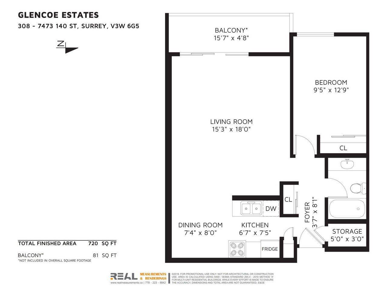"Photo 20: Photos: 308 - 7473 - 140 Street in Surrey: East Newton Condo for sale in ""GLENCOE  ESTATES"" : MLS®# R2410062"