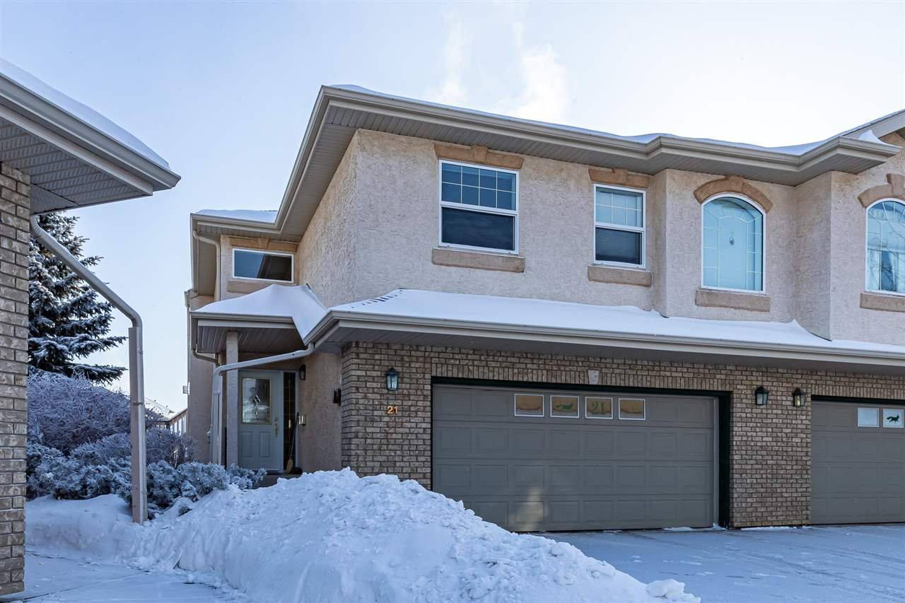 Main Photo: 21 1601 CLOVERBAR Road: Sherwood Park House Half Duplex for sale : MLS®# E4184591