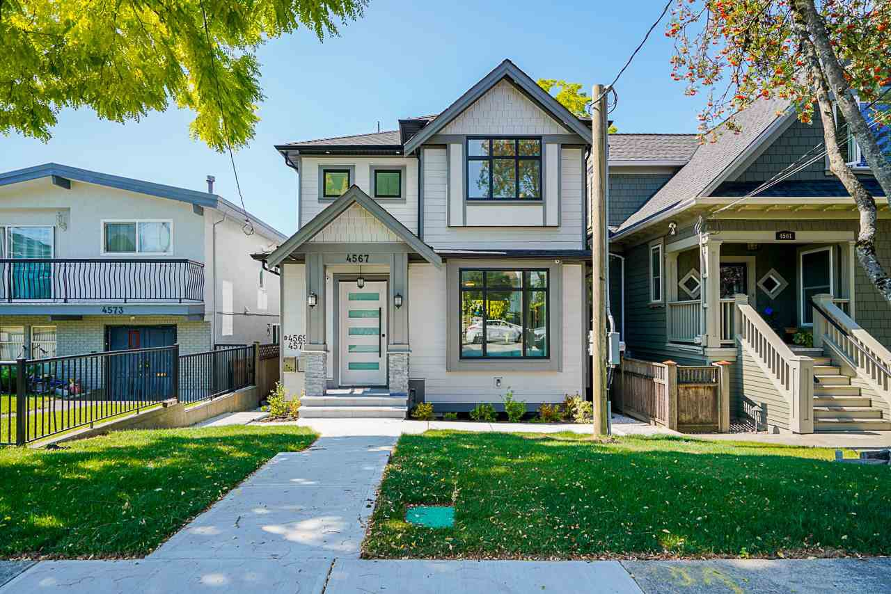 Main Photo: 4567 REID Street in Vancouver: Collingwood VE House for sale (Vancouver East)  : MLS®# R2490725