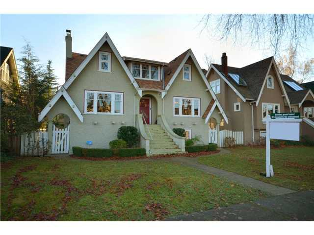"Main Photo: 4036 W 13TH Avenue in Vancouver: Point Grey House for sale in ""Point Grey"" (Vancouver West)  : MLS®# V921716"