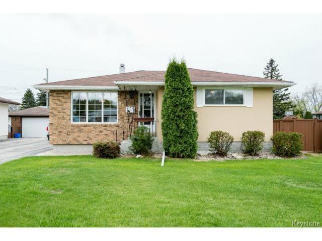 Main Photo: 20 Lethbridge Avenue in WINNIPEG: Transcona Residential for sale (North East Winnipeg)  : MLS®# 1513165