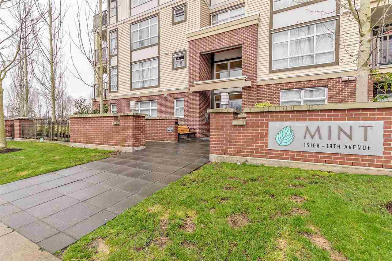 "Main Photo: 311 15168 19 Avenue in White Rock: Sunnyside Park Surrey Condo for sale in ""MINT"" (South Surrey White Rock)  : MLS®# R2239221"