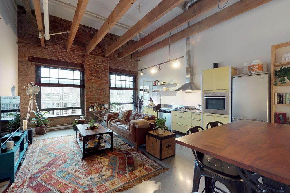 """Photo 4: Photos: 509 55 E CORDOVA Street in Vancouver: Downtown VE Condo for sale in """"KORET LOFTS"""" (Vancouver East)  : MLS®# R2252534"""