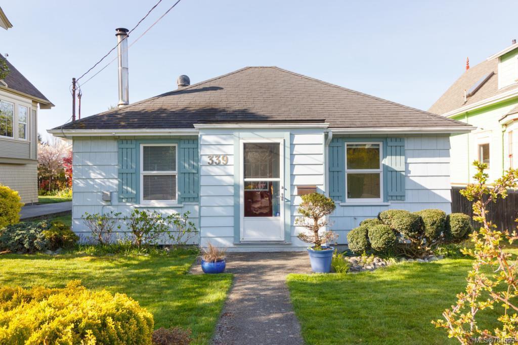 Main Photo: 339 Niagara St in VICTORIA: Vi James Bay Single Family Detached for sale (Victoria)  : MLS®# 784655