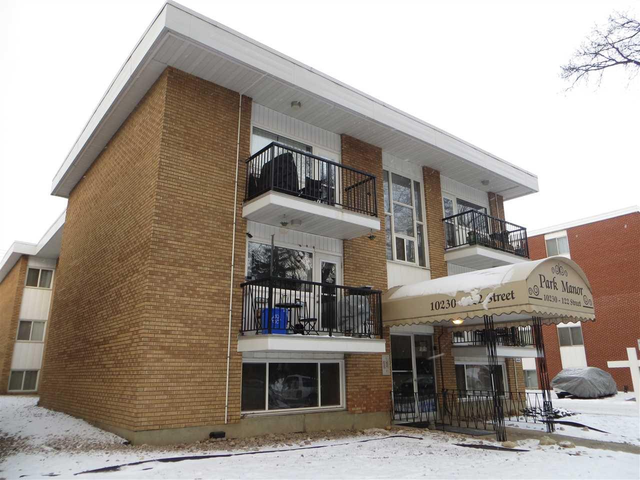 Main Photo: 5 10230 122 Street in Edmonton: Zone 12 Condo for sale : MLS®# E4138838