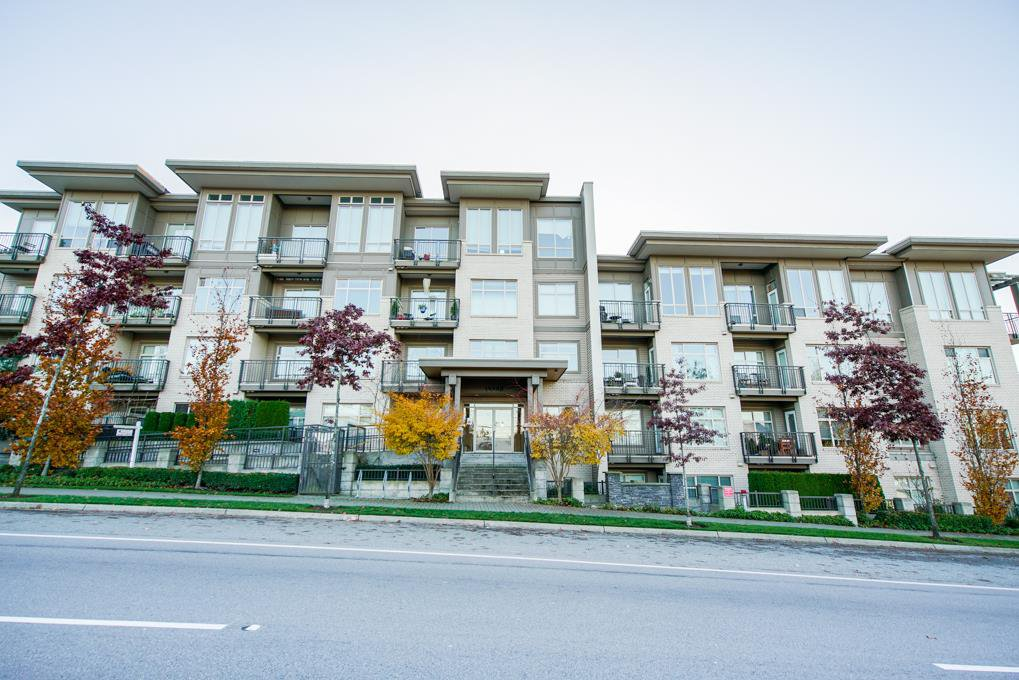 """Main Photo: 114 13468 KING GEORGE Boulevard in Surrey: Whalley Condo for sale in """"The Brookland"""" (North Surrey)  : MLS®# R2338302"""