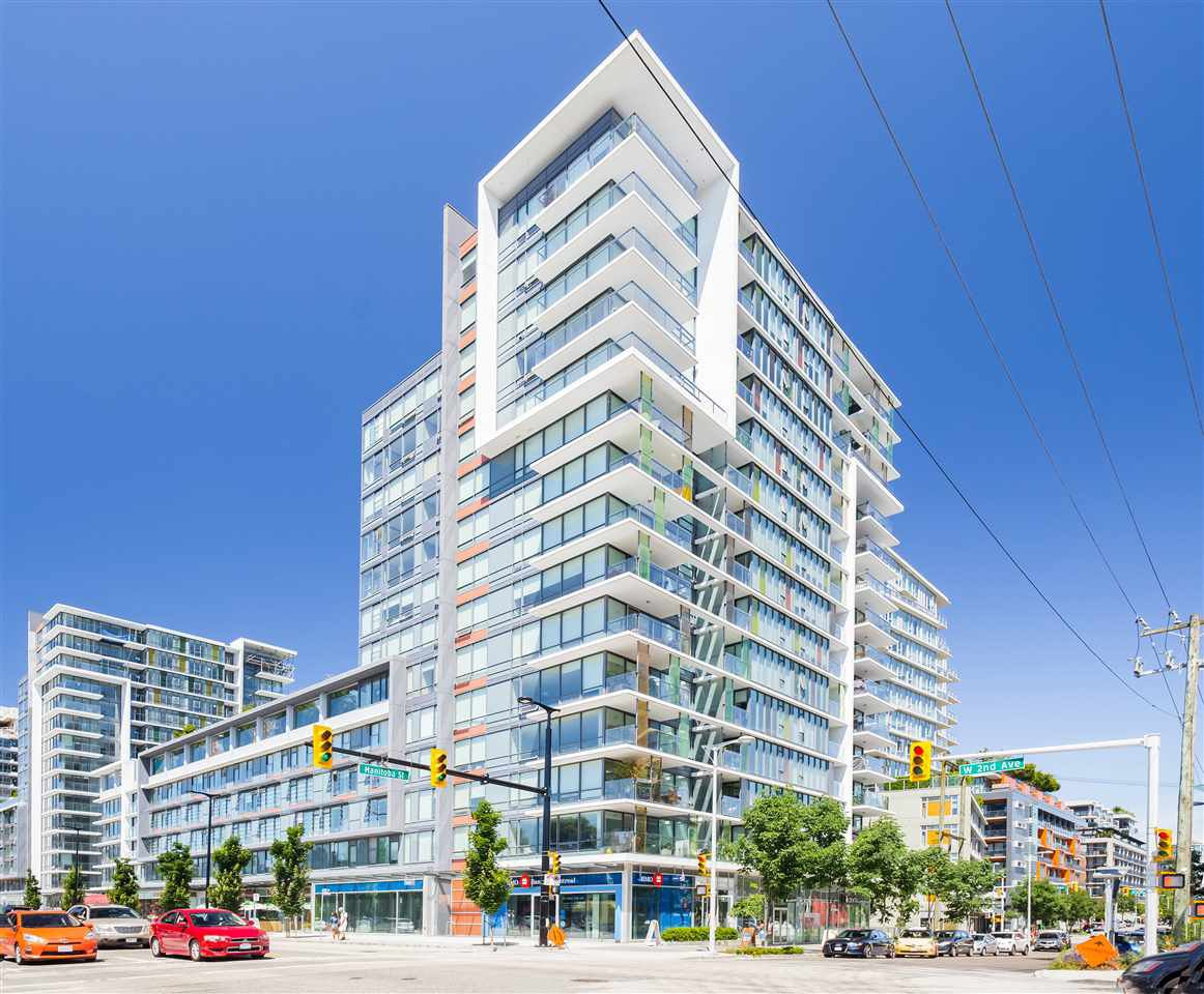"Main Photo: 1406 1783 MANITOBA Street in Vancouver: False Creek Condo for sale in ""Residences at West"" (Vancouver West)  : MLS®# R2457734"