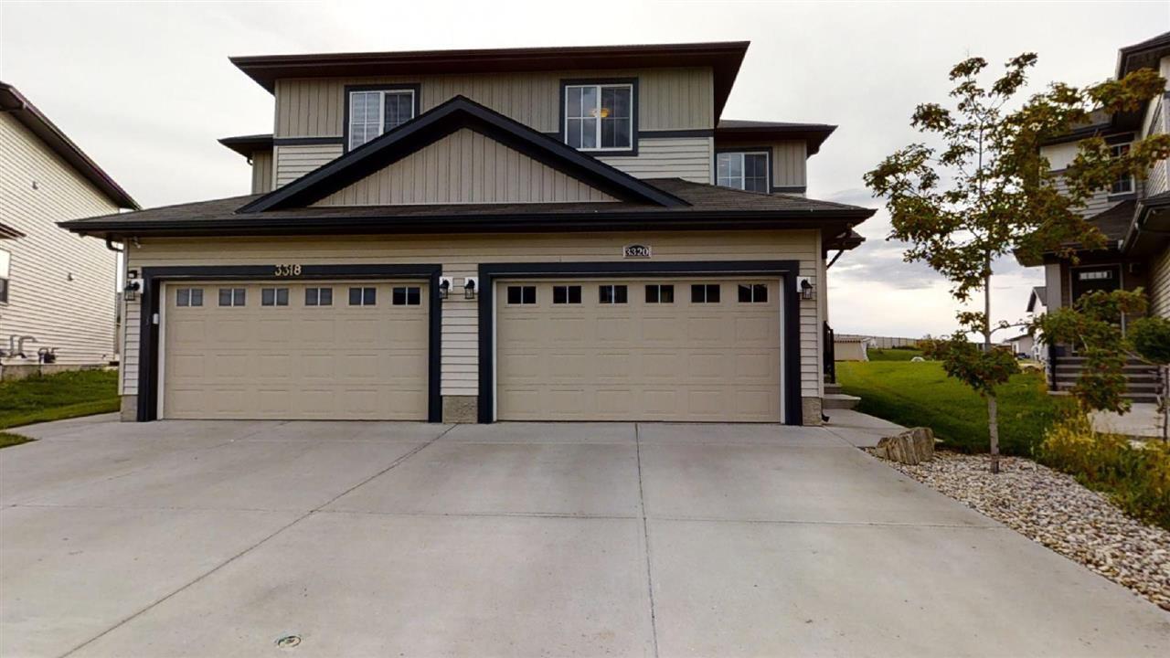 Main Photo: 3320 9 Street in Edmonton: Zone 30 House Half Duplex for sale : MLS®# E4206789