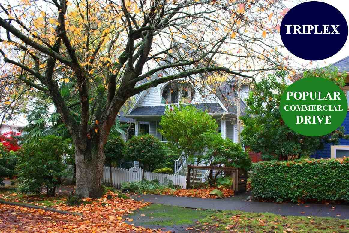 Main Photo: 1767 PARKER Street in Vancouver: Grandview Woodland House for sale (Vancouver East)  : MLS®# R2516923