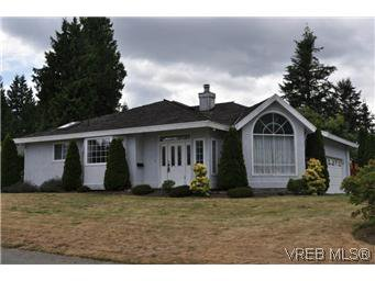 Main Photo: 2409 Twin View Dr in VICTORIA: CS Tanner House for sale (Central Saanich)  : MLS®# 585137