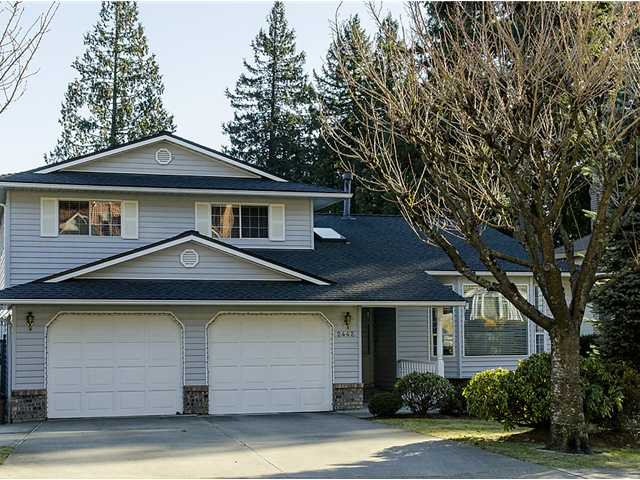 Main Photo: 2442 LECLAIR Drive in Coquitlam: Coquitlam East House for sale : MLS®# V1046202