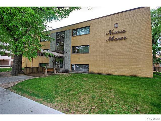 Main Photo: 50 Nassau Street in WINNIPEG: Fort Rouge / Crescentwood / Riverview Condominium for sale (South Winnipeg)  : MLS®# 1521312