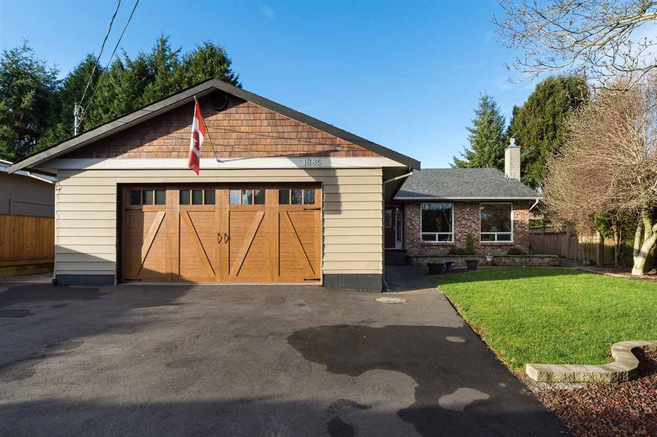 Main Photo: 1885 156 Street in Surrey: King George Corridor House for sale (South Surrey White Rock)  : MLS®# R2020408