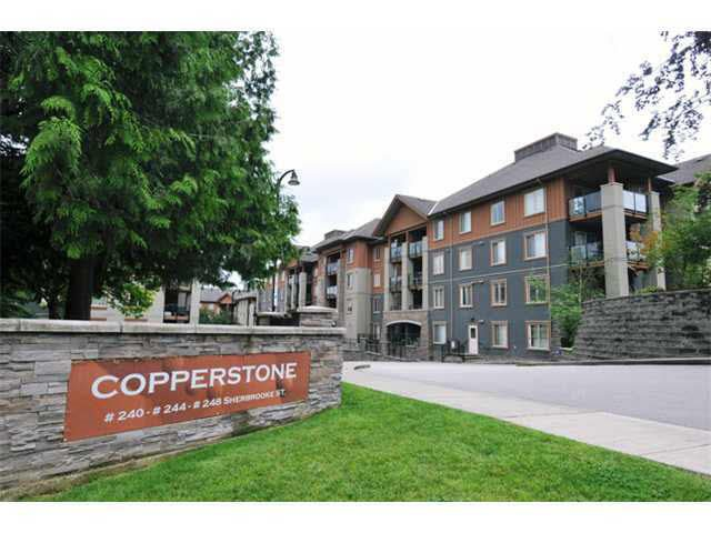 "Main Photo: 2302 244 SHERBROOKE Street in New Westminster: Sapperton Condo for sale in ""COPPERSTONE"" : MLS®# R2065217"