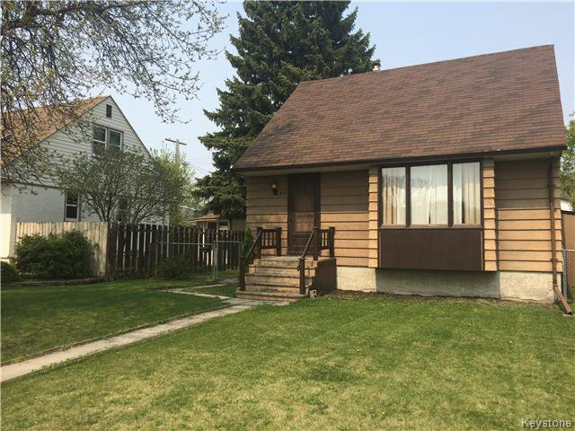Main Photo: 69 Haig Avenue in Winnipeg: St Vital Residential for sale (South East Winnipeg)  : MLS®# 1611797