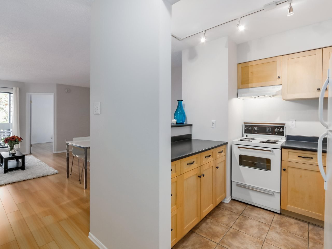 """Photo 8: Photos: 207 1545 E 2ND Avenue in Vancouver: Grandview VE Condo for sale in """"TALISHAN WOODS"""" (Vancouver East)  : MLS®# R2086466"""