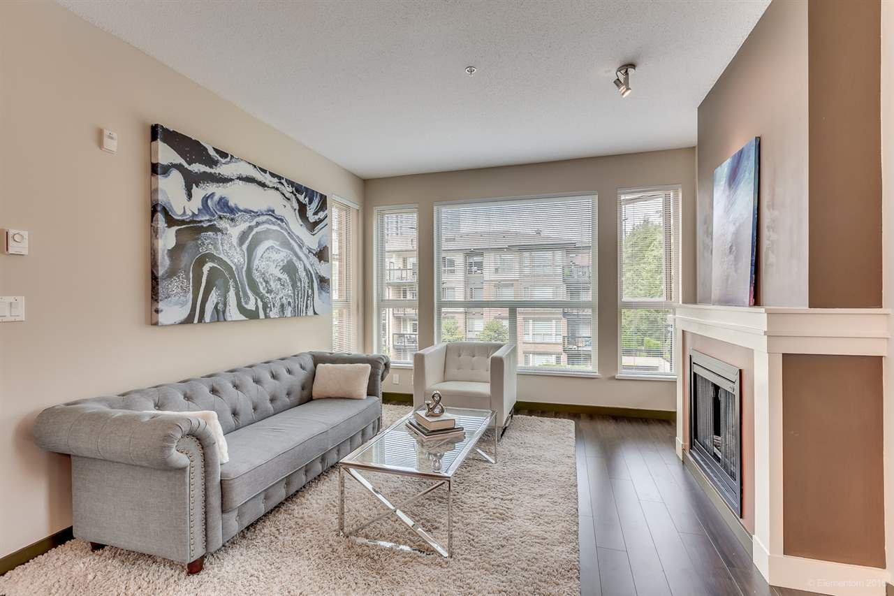 """Main Photo: 314 1153 KENSAL Place in Coquitlam: New Horizons Condo for sale in """"ROYCROFT"""" : MLS®# R2101554"""