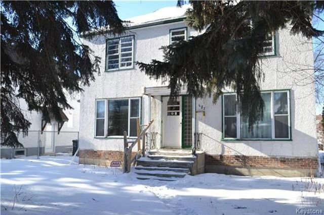 Photo 1: Photos: 457 Montrose Street in Winnipeg: Residential for sale (1C)  : MLS®# 1802966