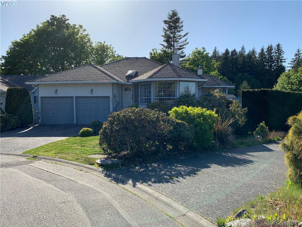 Main Photo: 786 Del Monte Place in VICTORIA: SE Cordova Bay Single Family Detached for sale (Saanich East)  : MLS®# 406763