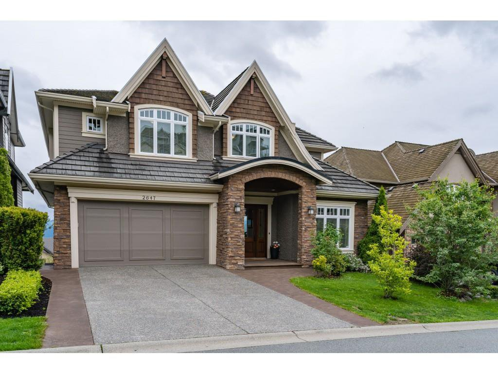 "Main Photo: 2647 EAGLE MOUNTAIN Drive in Abbotsford: Abbotsford East House for sale in ""Eagle Mountain"" : MLS®# R2371238"