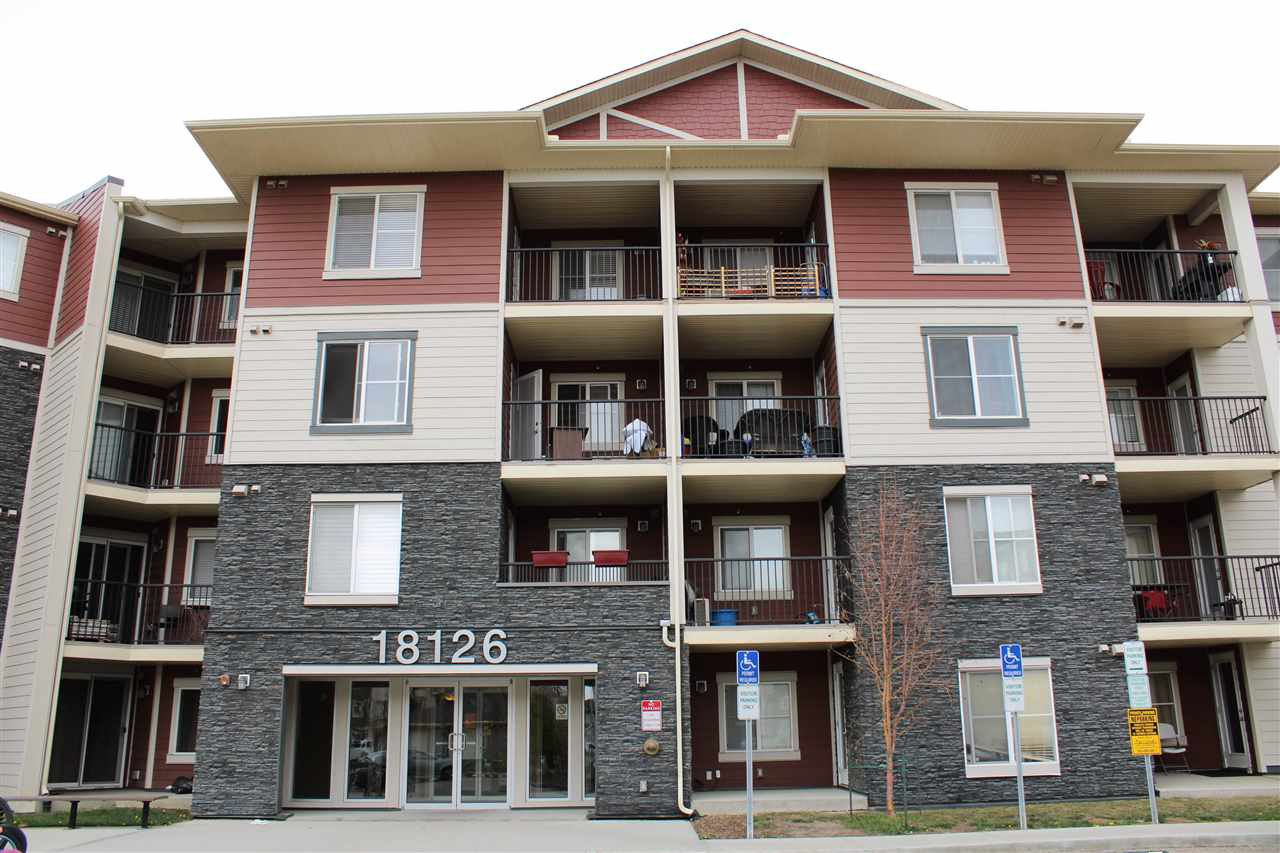 Main Photo: #404 18126 77 Street in Edmonton: Zone 28 Condo for sale : MLS®# E4182148
