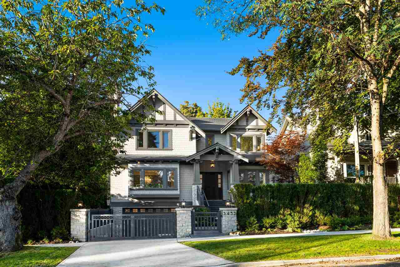 Main Photo: 3433 W 34TH AVE Avenue in Vancouver: Dunbar House for sale (Vancouver West)  : MLS®# R2508265