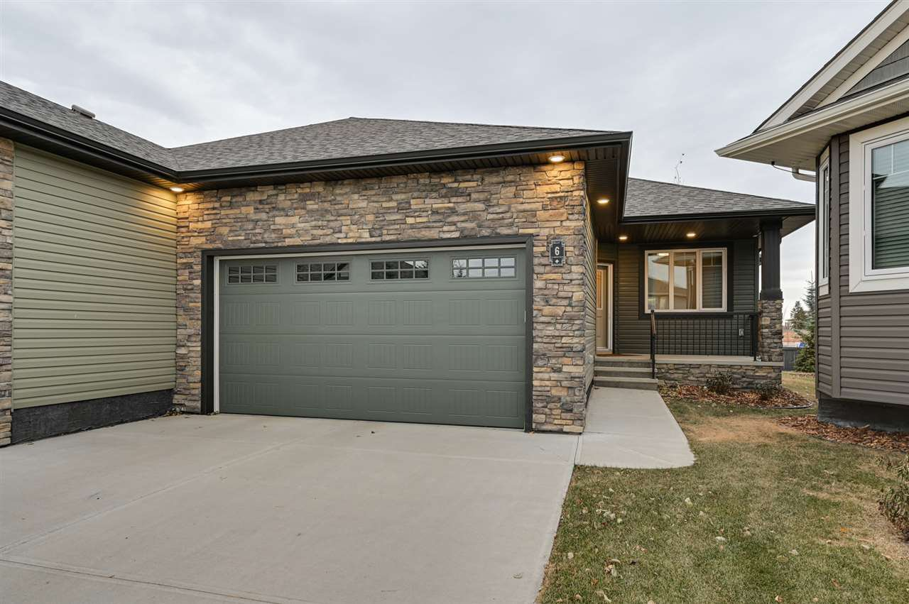Main Photo: 6 7115 Armour Link in Edmonton: Zone 56 House Half Duplex for sale : MLS®# E4219991