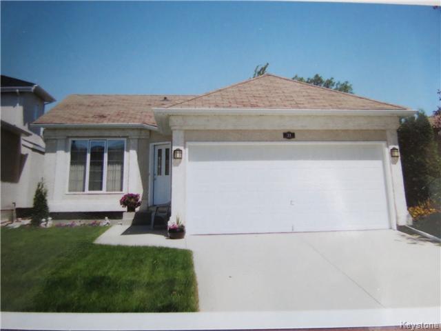 Main Photo: 31 Invermere Street in WINNIPEG: Fort Garry / Whyte Ridge / St Norbert Residential for sale (South Winnipeg)  : MLS®# 1404079