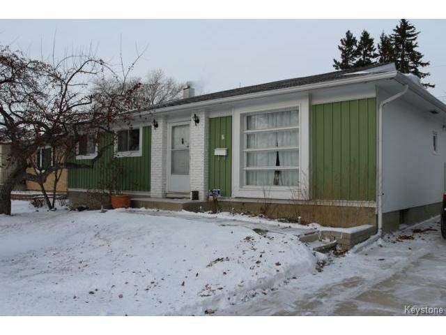 Main Photo: 6 Fieldstone Bay in WINNIPEG: Westwood / Crestview Residential for sale (West Winnipeg)  : MLS®# 1425600