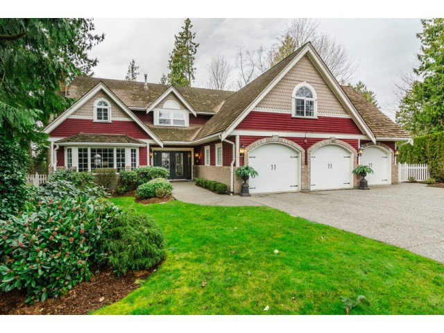 "Main Photo: 18102 CLAYTONWOOD Crescent in Surrey: Cloverdale BC House for sale in ""CLAYTON WEST"" (Cloverdale)  : MLS®# F1438839"