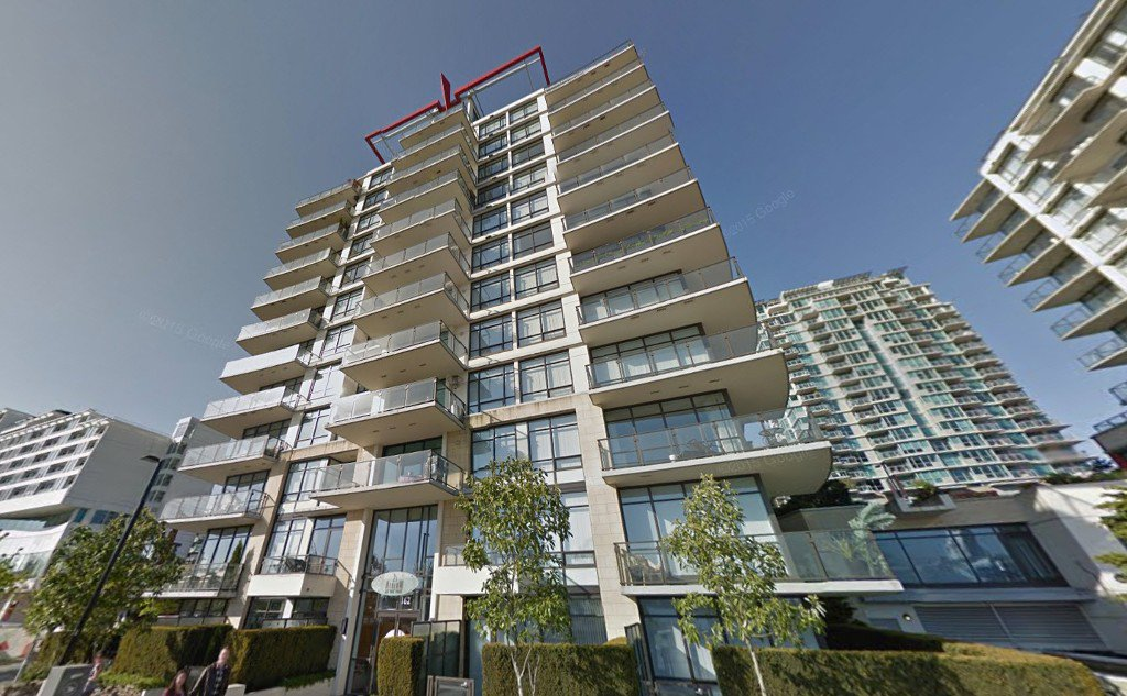 "Main Photo: 203 162 VICTORY SHIP Way in North Vancouver: Lower Lonsdale Condo for sale in ""ATRIUM"