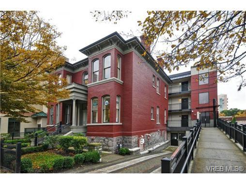 Main Photo: 402 1007 Johnson St in VICTORIA: Vi Downtown Condo for sale (Victoria)  : MLS®# 741592
