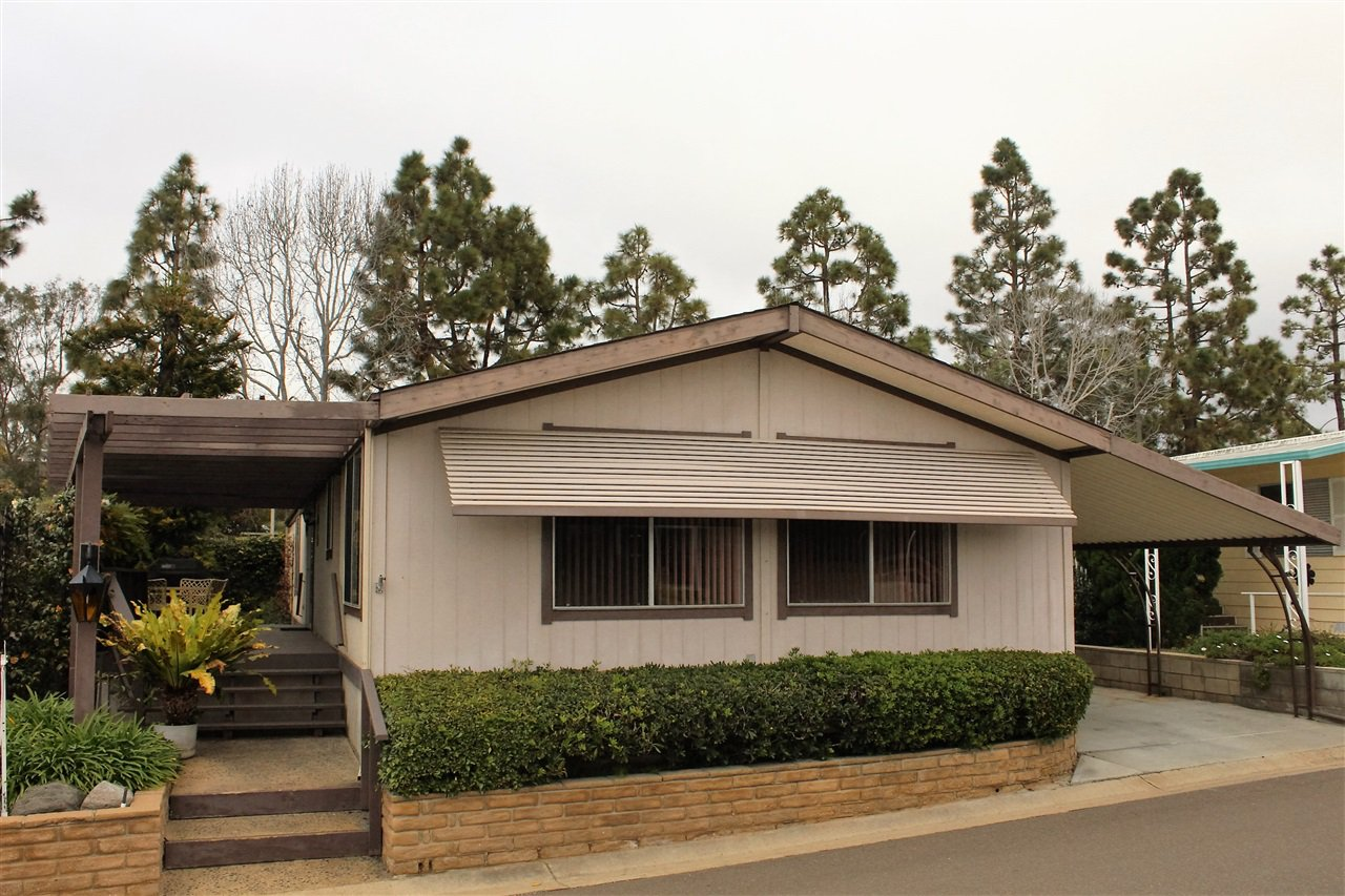 Main Photo: CARLSBAD SOUTH Manufactured Home for sale : 2 bedrooms : 7322 San Bartolo #218 in Carlsbad