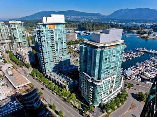 Main Photo: 2503 588 BROUGHTON Street in Vancouver West: Condo for sale : MLS®# V872013