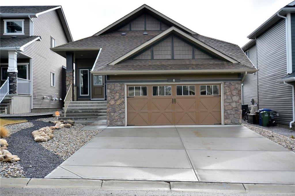Main Photo: 6 MOUNT BURNS Green: Okotoks House for sale : MLS®# C4137205