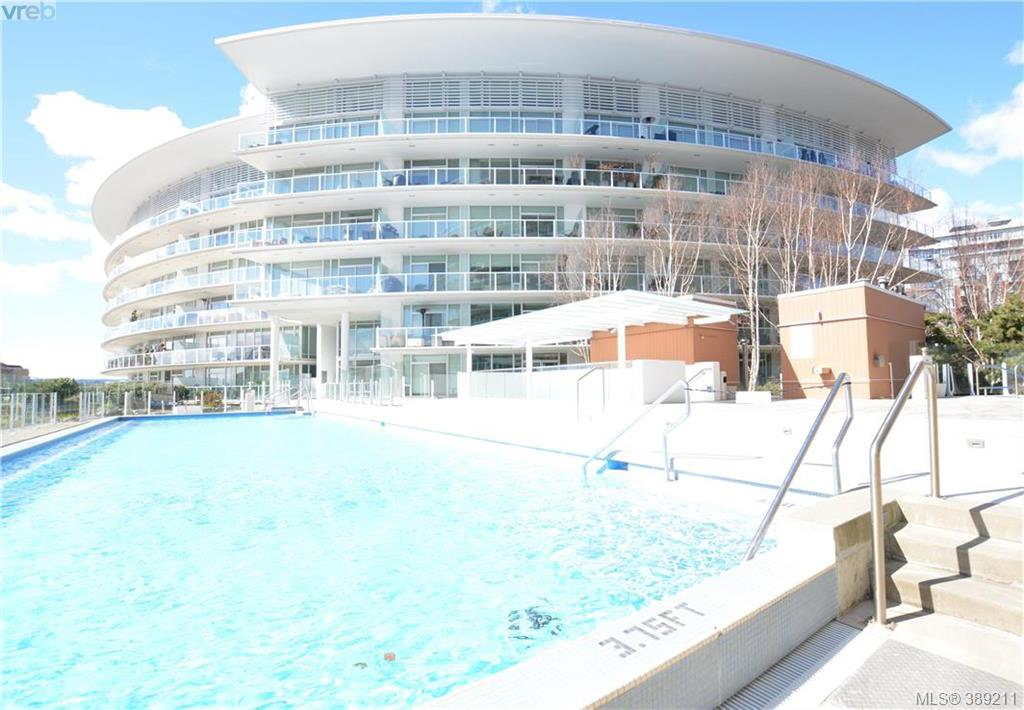 Main Photo: 101 66 Songhees Road in VICTORIA: VW Songhees Condo Apartment for sale (Victoria West)  : MLS®# 389211