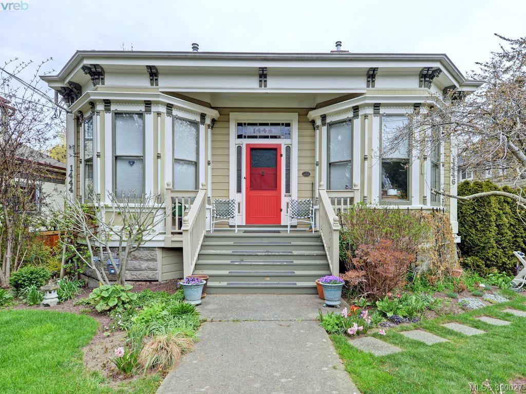 Main Photo: 1446 Pembroke Street in VICTORIA: Vi Fernwood Condo Apartment for sale (Victoria)  : MLS®# 390027