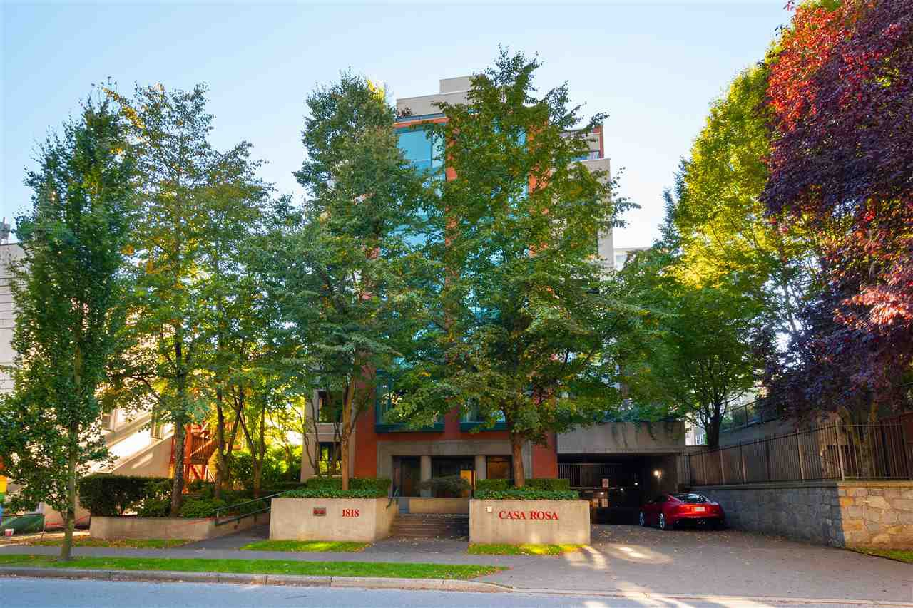 "Main Photo: 501 1818 ROBSON Street in Vancouver: West End VW Condo for sale in ""Casa Rosa"" (Vancouver West)  : MLS®# R2504096"