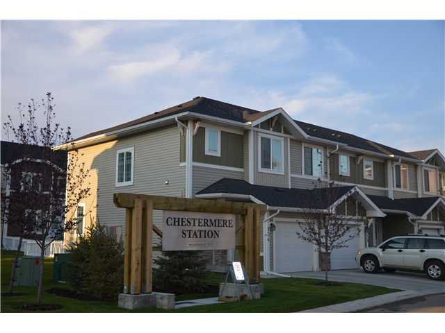 Main Photo: 111 300 MARINA Drive W in : Chestermere Townhouse for sale : MLS®# C3589237