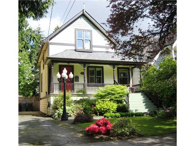 Main Photo: 227 REGINA Street in New Westminster: Queens Park House for sale : MLS®# V1065391