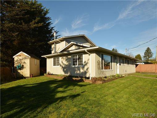 Main Photo: 4146 Interurban Rd in VICTORIA: SW Strawberry Vale House for sale (Saanich West)  : MLS®# 692903