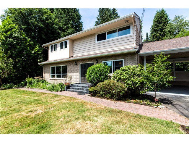 Photo 2: Photos: 1284 ELDON Road in North Vancouver: Canyon Heights NV House for sale : MLS®# V1129079