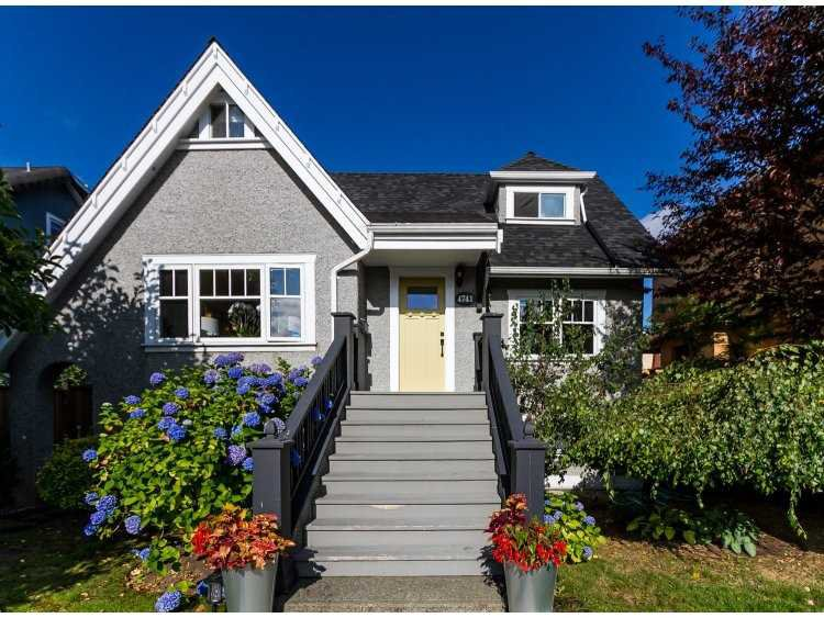 "Main Photo: 4741 BLENHEIM Street in Vancouver: Dunbar House for sale in ""DUNBAR"" (Vancouver West)  : MLS®# V1135108"
