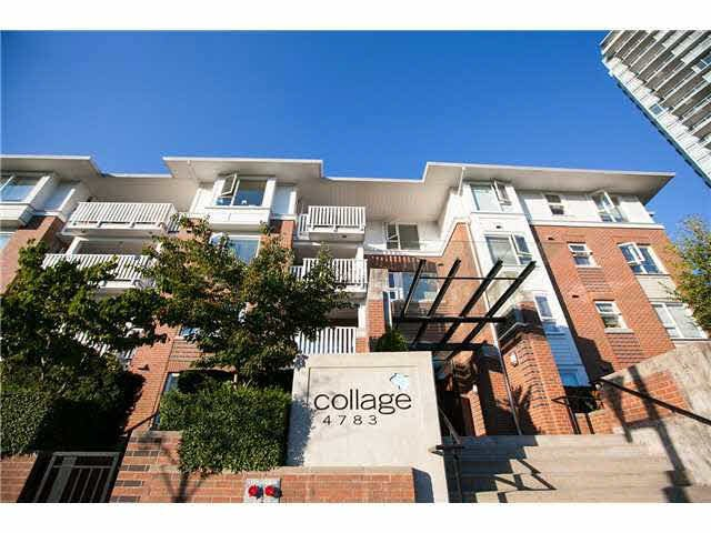 "Main Photo: 408 4783 DAWSON Street in Burnaby: Brentwood Park Condo for sale in ""COLLAGE"" (Burnaby North)  : MLS®# V1141834"