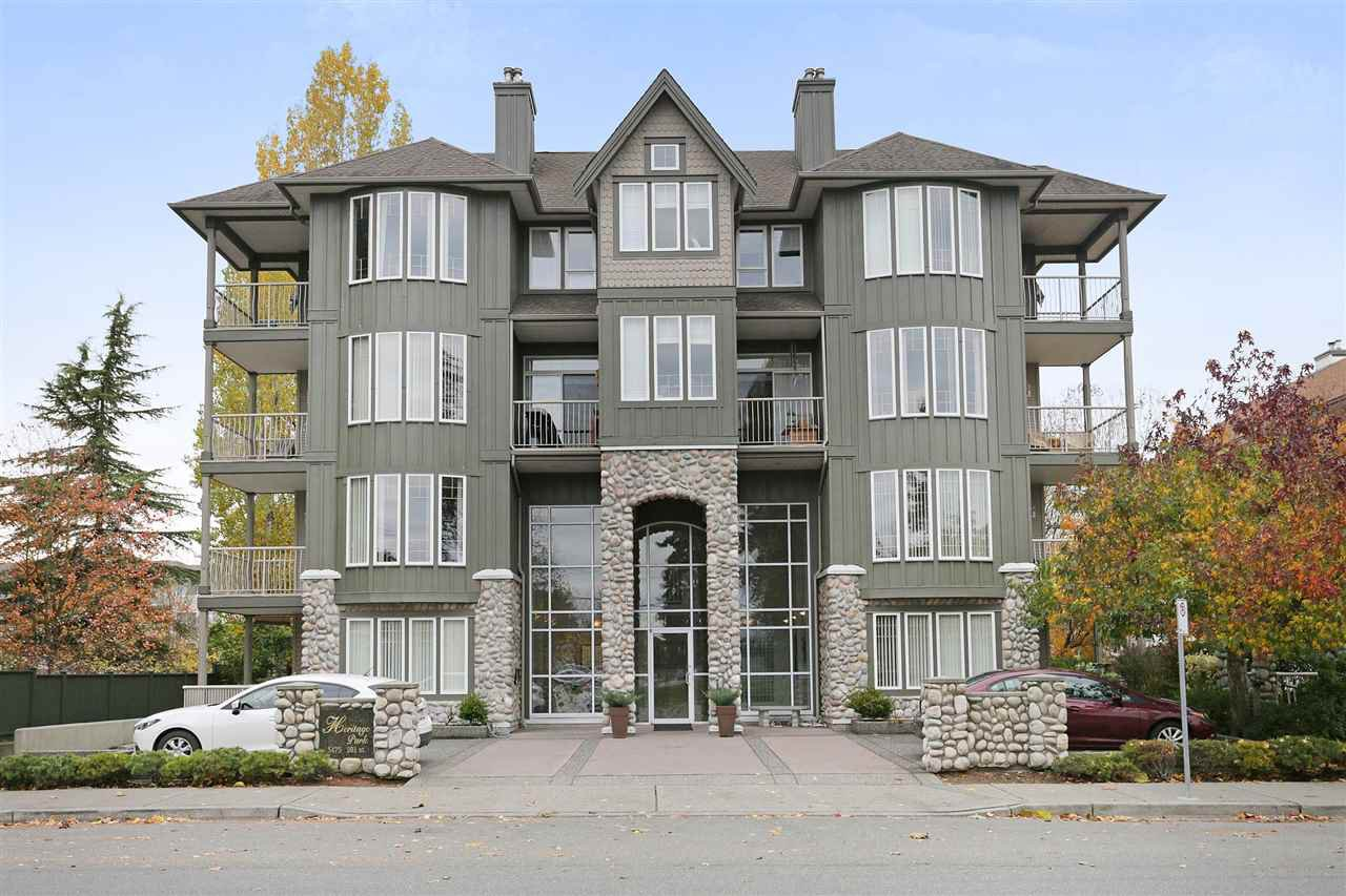 "Main Photo: 103 5475 201 Street in Langley: Langley City Condo for sale in ""HERITAGE PARK"" : MLS®# R2218113"