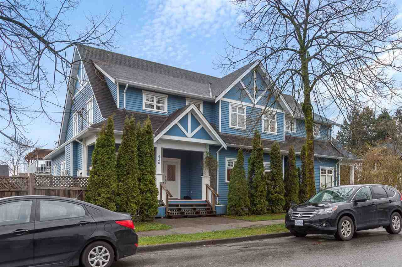 """Main Photo: 480 SEMLIN Drive in Vancouver: Hastings House 1/2 Duplex for sale in """"HASTINGS-SUNRISE"""" (Vancouver East)  : MLS®# R2221694"""