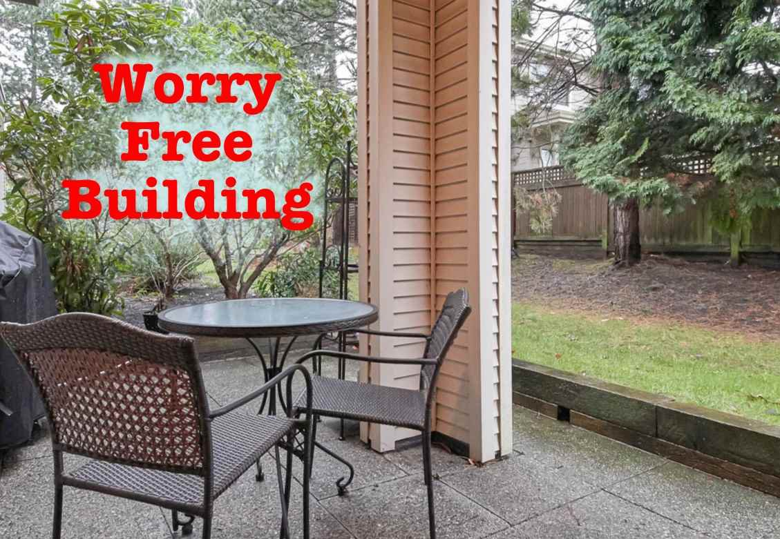 Big contingency fund. Low strata fees. Depreciation Report. Well run, pro-active strata council. Great neighbourhood. Updated and move in ready! Ground floor with private green space.