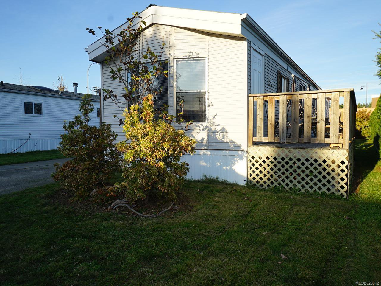 Main Photo: 79 390 Cowichan Ave in COURTENAY: CV Courtenay East Manufactured Home for sale (Comox Valley)  : MLS®# 828012